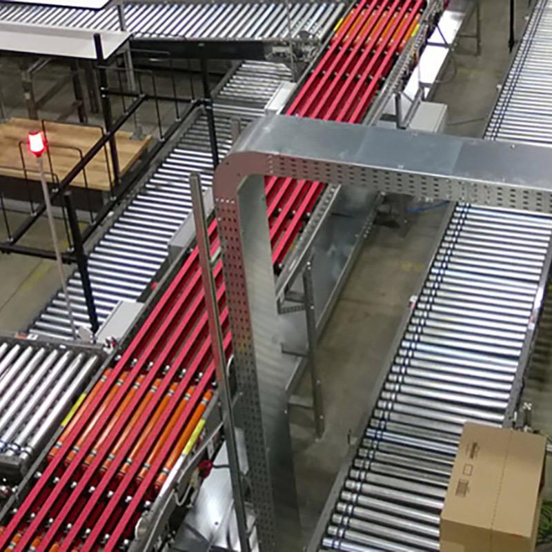 Checker heavy duty conveyor system